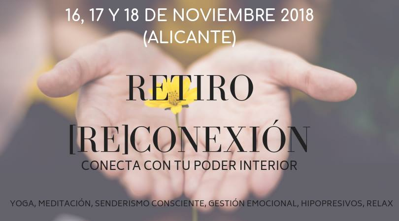 INSPIRAYOGA RETIRO NOVIEMBRE 2018 CARTEL